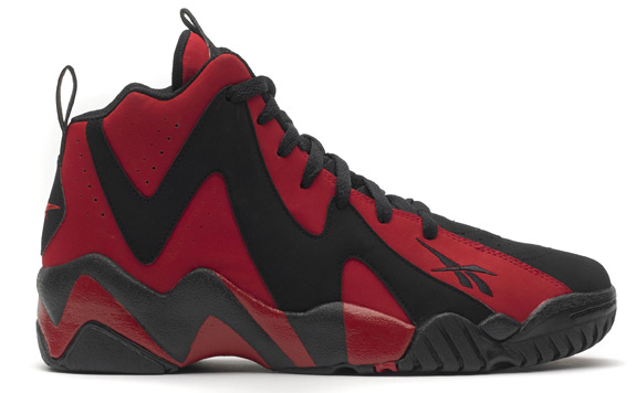 Reebok Kamikaze II Mid - Red and Black