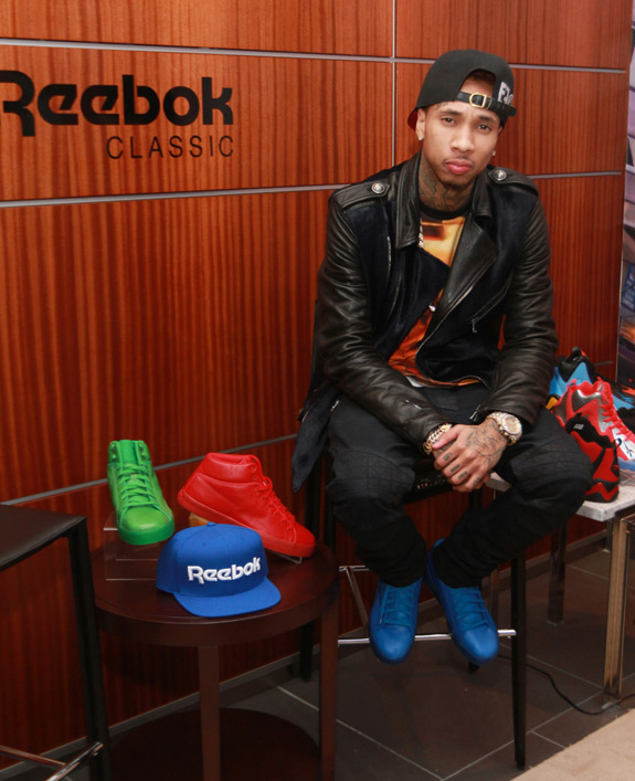 Tyga Reebok Classic Shoes Reebok Classic And Tyga Hosted