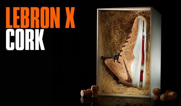 LeBron X Cork