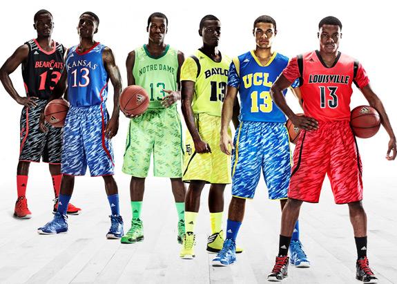 adidas NCAA Uniforms