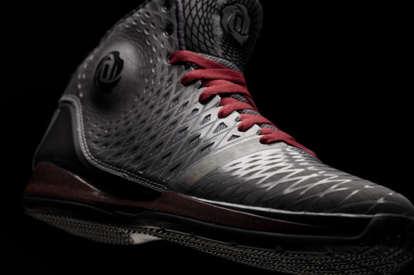 D Rose 3.5, Metal-Black, Detail 1