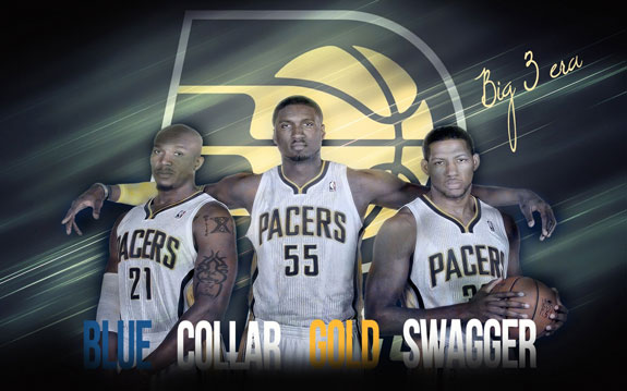 Indiana Pacers-  Roy Hibbert