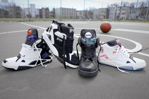 Reebok Classic Blacktop collection