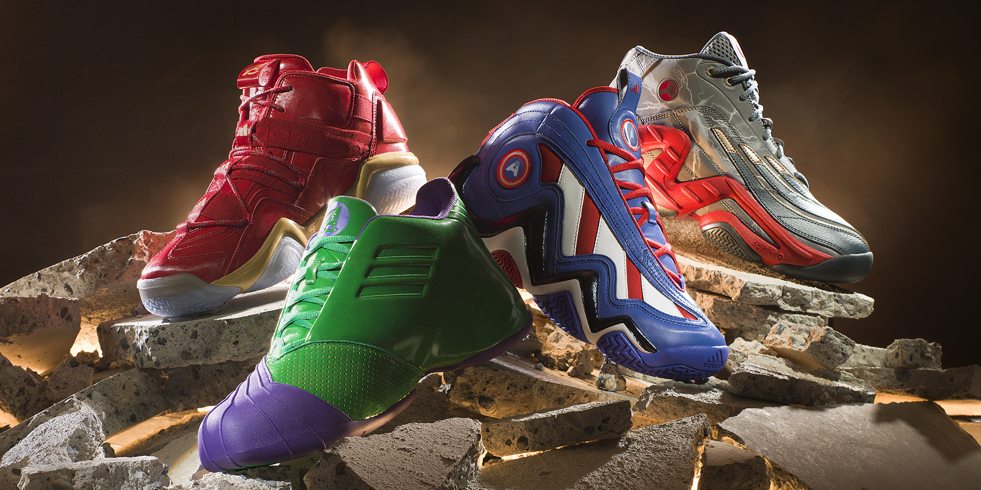 adidas unveils avengers basketball shoe collection