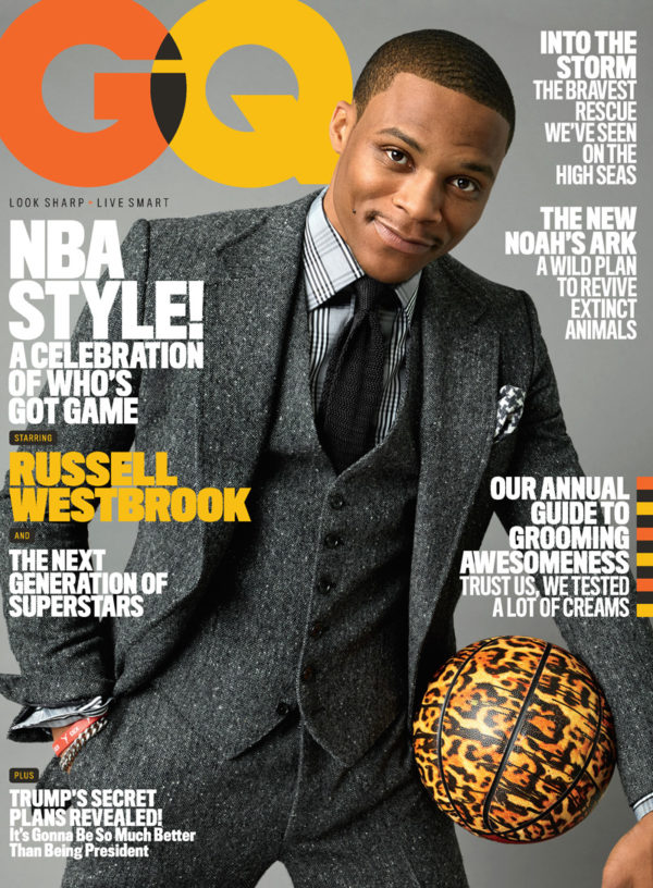 Russell Westbrook - GQ November Cover
