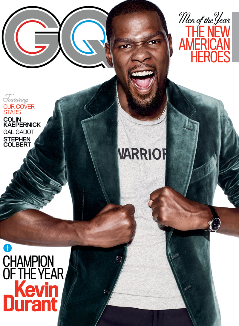 Kevin Durant is GQ's Champion of the Year