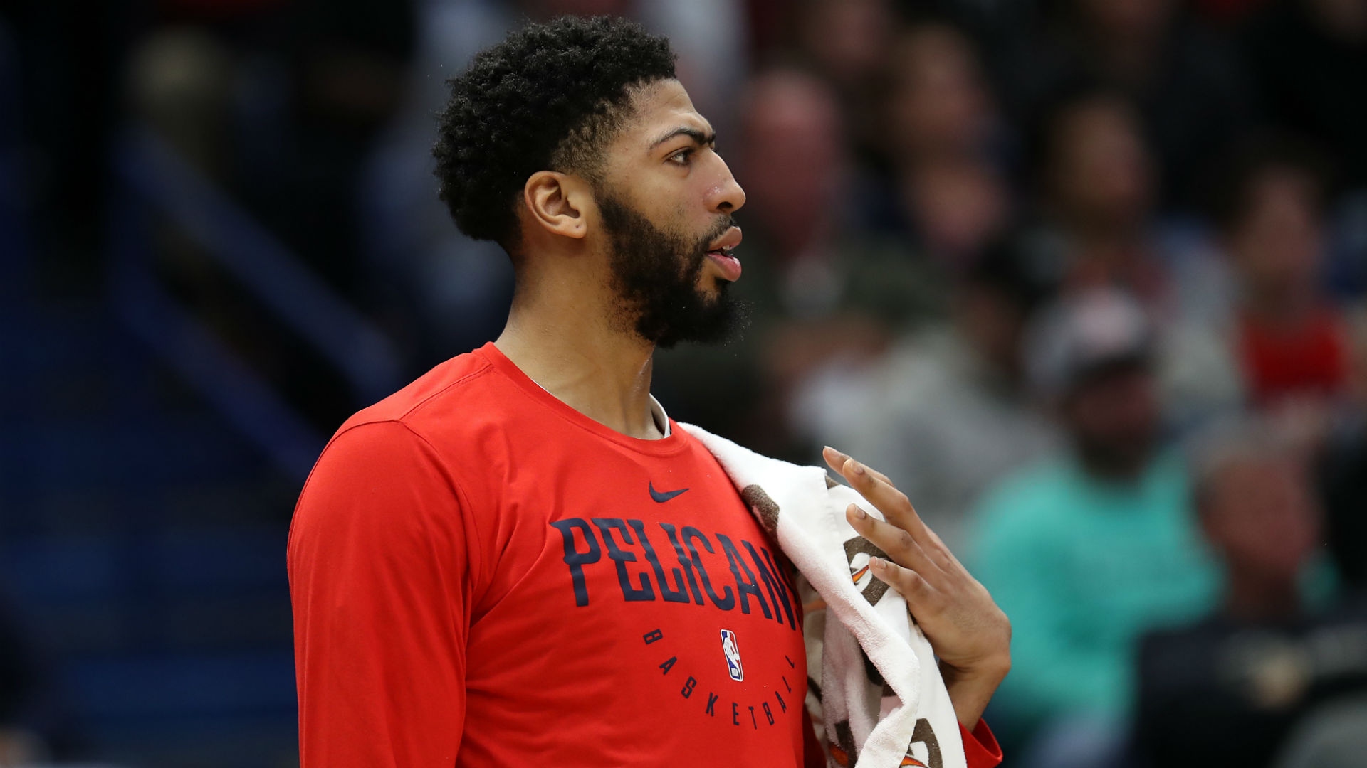 3173aa42d7 Everyone that seems to think that Anthony Davis is going to be wearing gold  and purple next season had better slow their roll