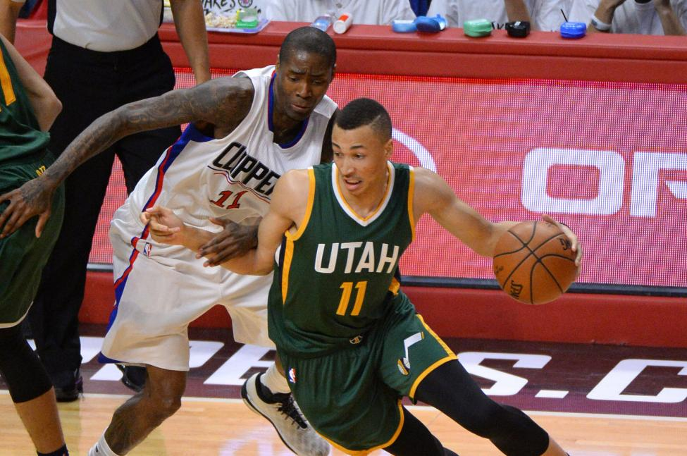 d8926fb122 It has been a tough road for Utah Jazz point guard Dante Exum since he was a  lottery pick in the draft